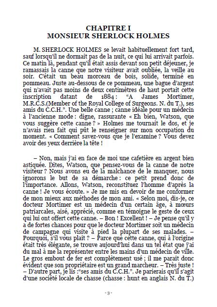 Le Chien Des Baskerville PDF par Arthur Conan Doyle 1