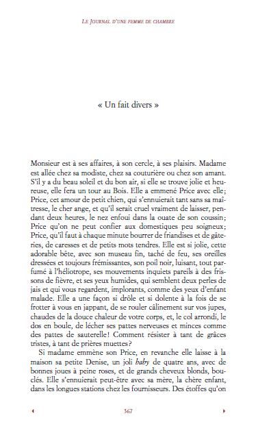 Roman: Le Journal d'une femme de chambre PDF gratuit 3