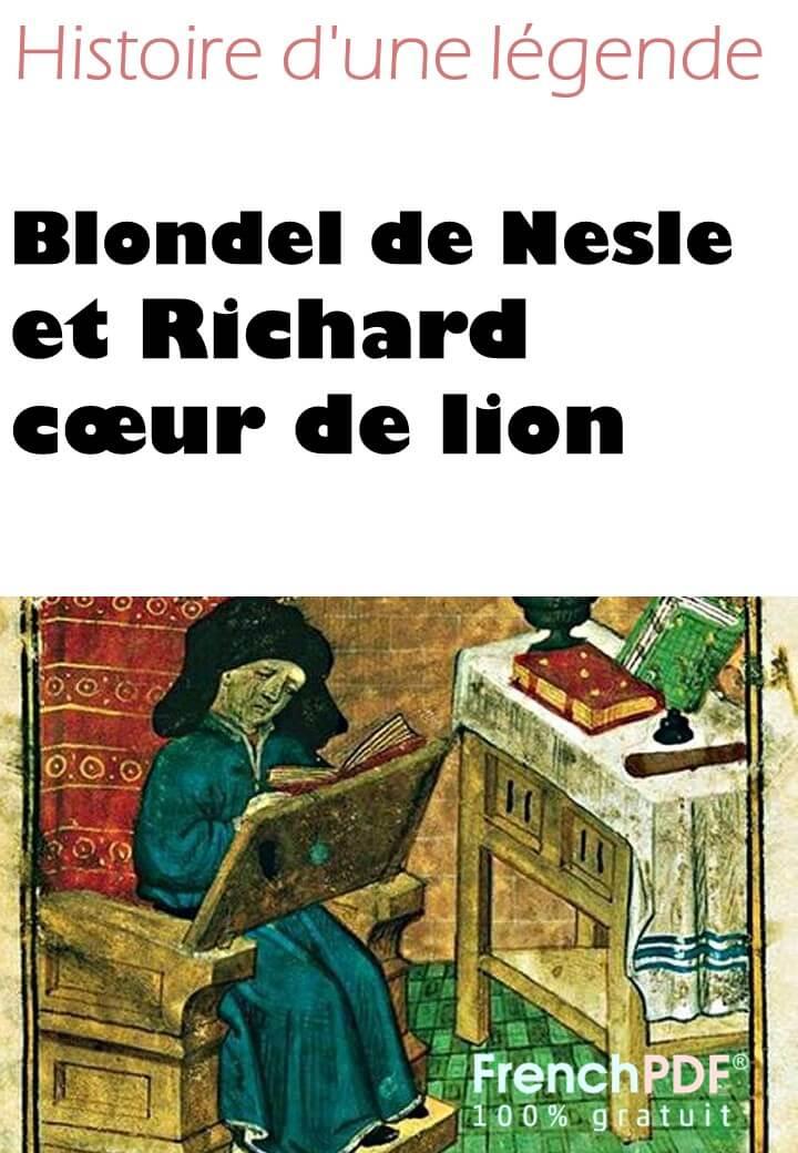 Blondel de Nesle et Richard cœur de lion