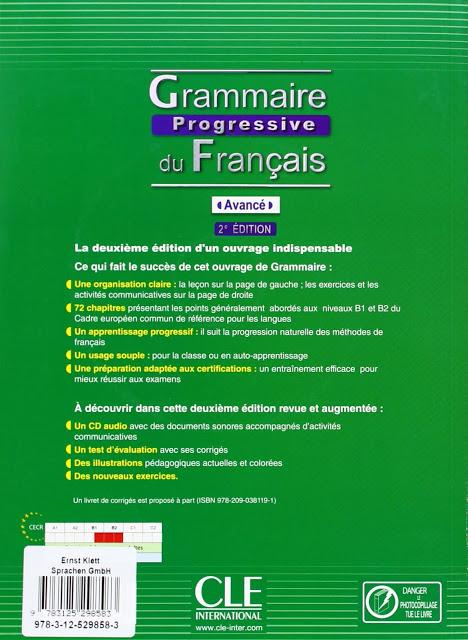 Grammaire progressive du français Niveau Avancé pdf 5
