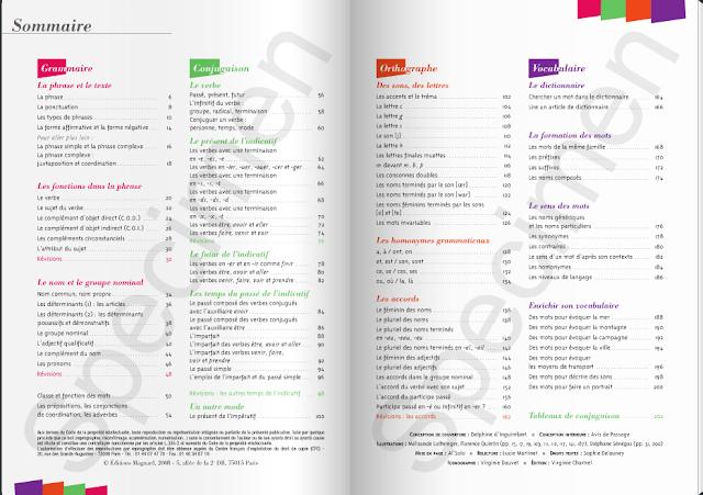 Outils pour le français, CM1, livre en ligne 2