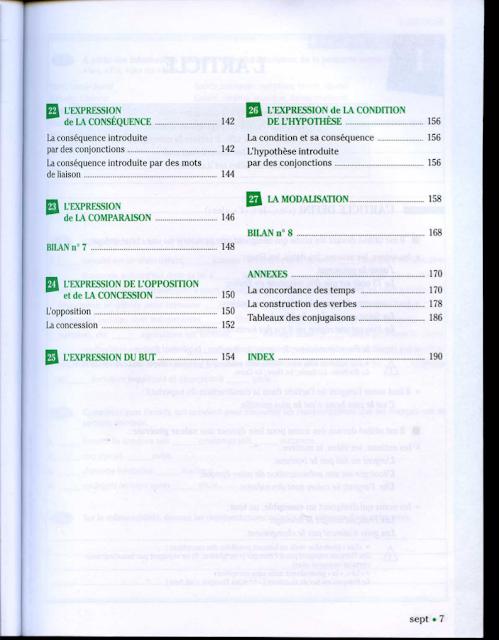 Grammaire progressive du français Niveau Avancé pdf 4