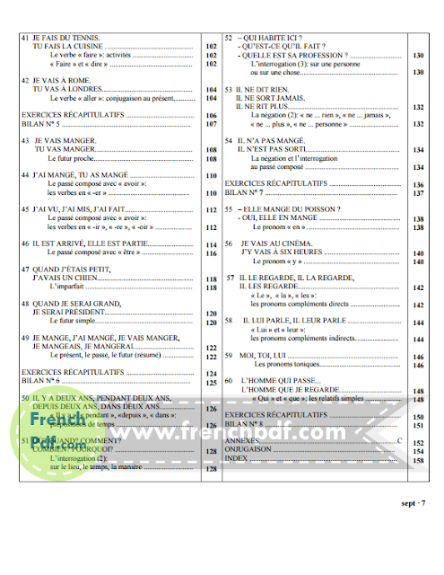 Grammaire progressive du français, Niveau débutant pdf 5