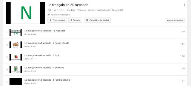 Apprendre à parler le français en 60 secondes - Flashcard série. 1