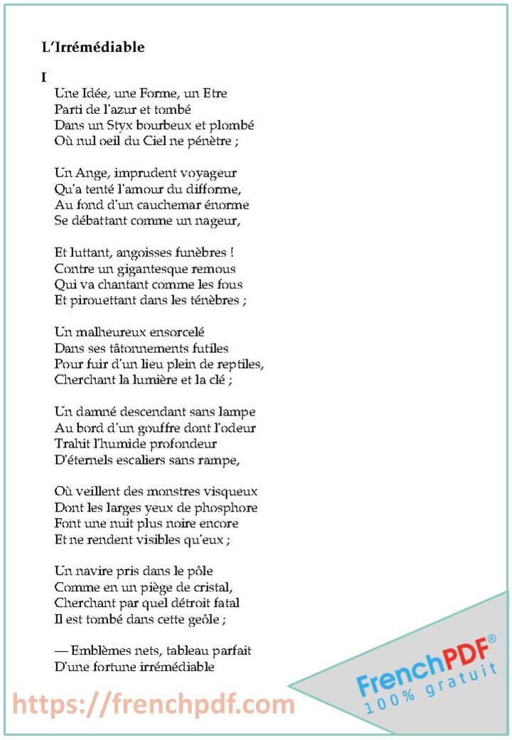 Les Fleurs du mal PDF de Charles Baudelaire 2019 3