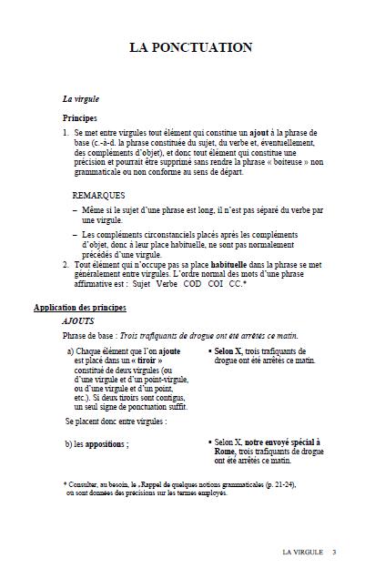 Abrégé des règles de grammaire et d'orthographe (ARGO) pdf gratuit 3