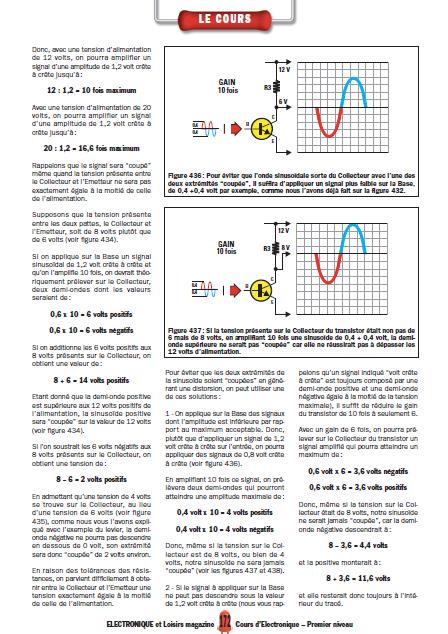 Apprendre l'électronique en partant de zéro Niveau 1 en PDF 3