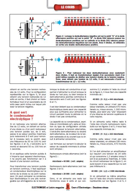 Apprendre l'électronique en partant de zéro Niveau 2 en PDF 3