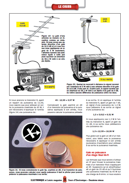 Apprendre l'électronique en partant de zéro Niveau 2 en PDF 4