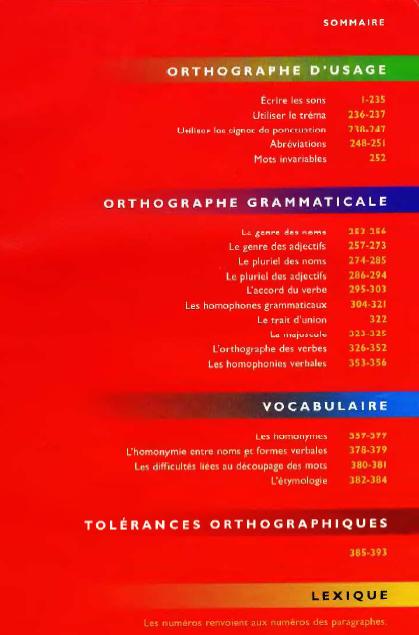 Bescherelle L'Orthographe pour tous PDF gratuit 1