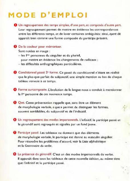 Bescherelle La conjugaison pour tous en PDF gratuitement 4