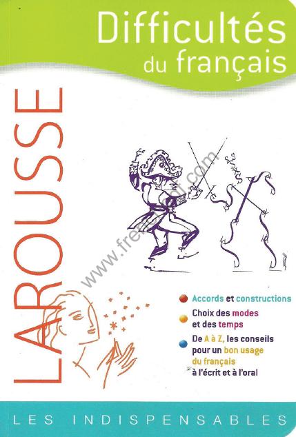 Livre Pdf Difficultes Du Francais Larousse De Rene Lagane
