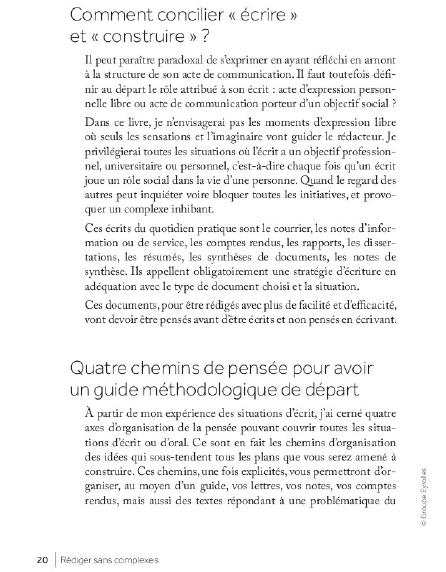Rédiger sans complexes livre pdf de Michelle Fayet gratuit 1