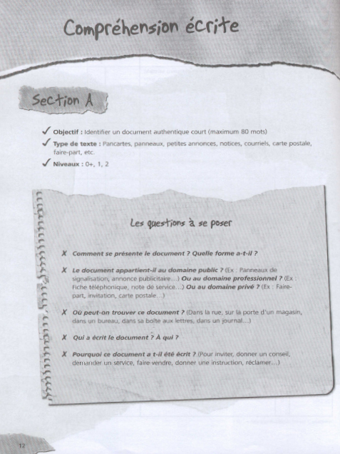 TEF: test d'evaluation de français 250 activites pdf + livre audio