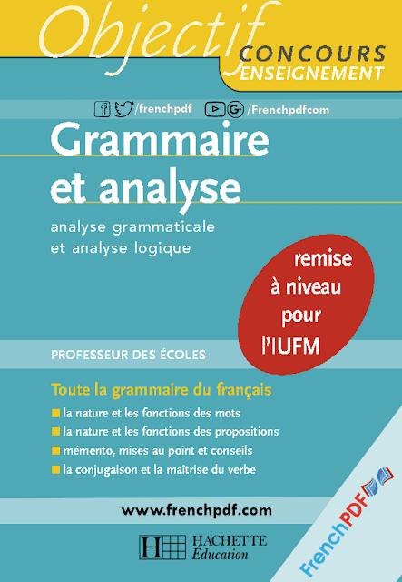 Grammaire Et Analyse Analyse Grammaticale Et Analyse