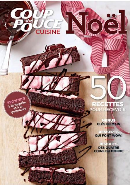 50 Recettes Coup de pouce cuisine Noël livre en pdf 1
