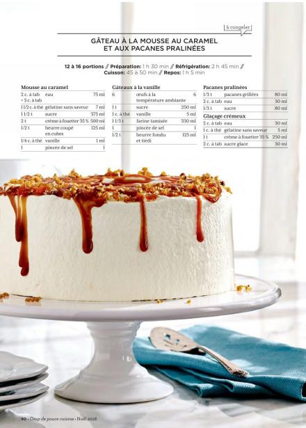 50 Recettes Coup de pouce cuisine Noël livre en pdf 4