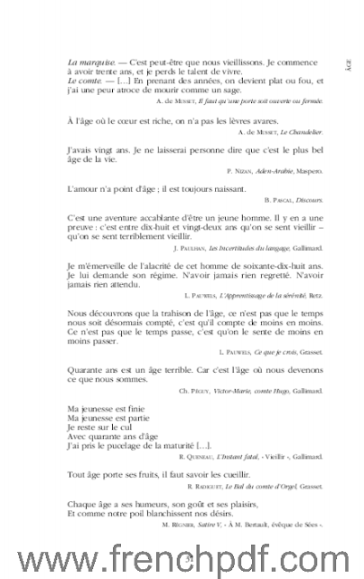 Dictionnaire des citations Françaises en PDF de Jean-Yves Dournon. 2