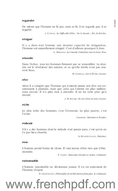 Dictionnaire des citations Françaises en PDF de Jean-Yves Dournon. 4