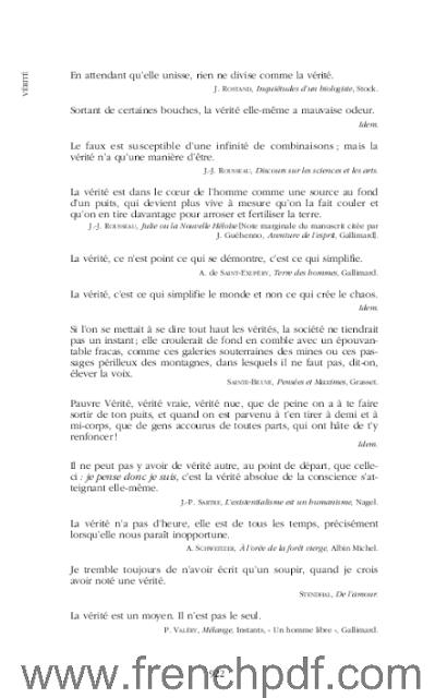 Dictionnaire des citations Françaises en PDF de Jean-Yves Dournon. 3