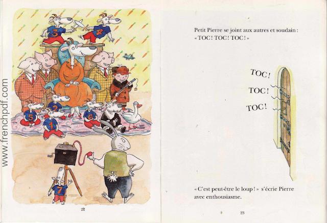 Le loup est revenu - Une belle conte pour enfants 11