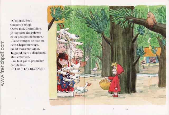 Le loup est revenu - Une belle conte pour enfants 12