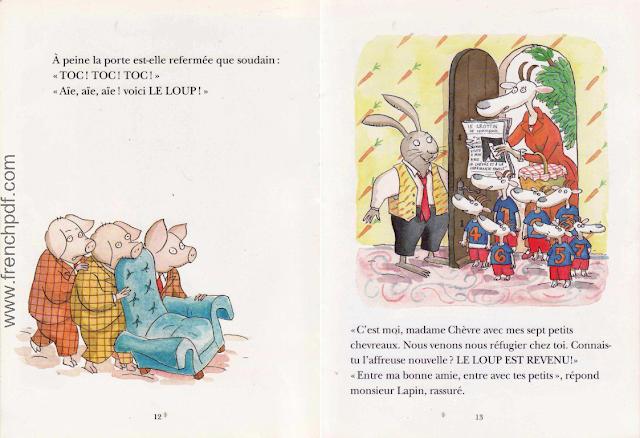 Le loup est revenu - Une belle conte pour enfants 6