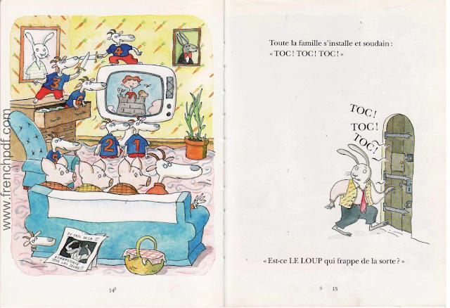 Le loup est revenu - Une belle conte pour enfants 7