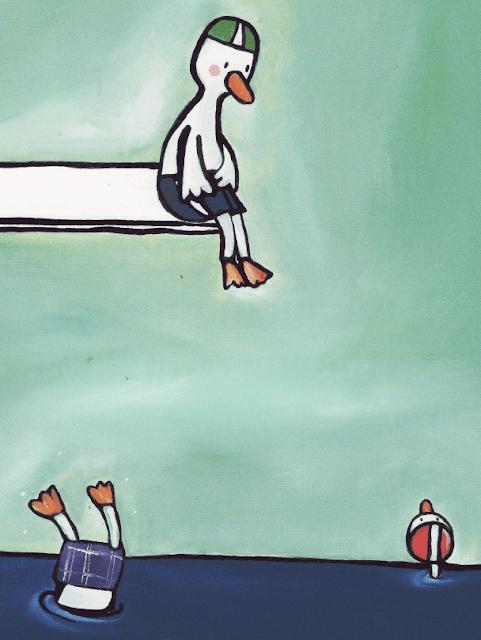 Conte pour enfant: Poule Mouillée par Emile Jadoul 13