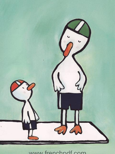 Conte pour enfant: Poule Mouillée par Emile Jadoul 17