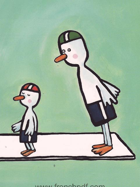 Conte pour enfant: Poule Mouillée par Emile Jadoul 23