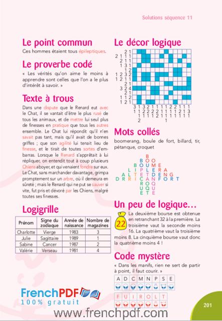 Jeux d'intelligence pour les mordus en PDF gratuit 6