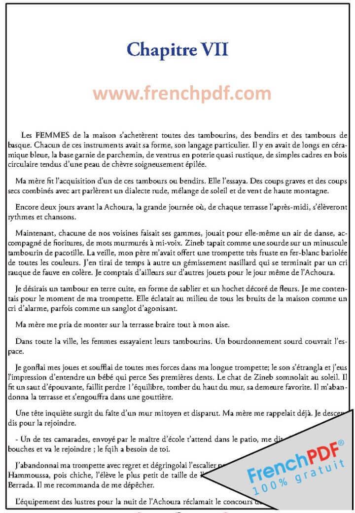 La Boîte A Merveilles PDF d'Ahmed Sefrioui 3