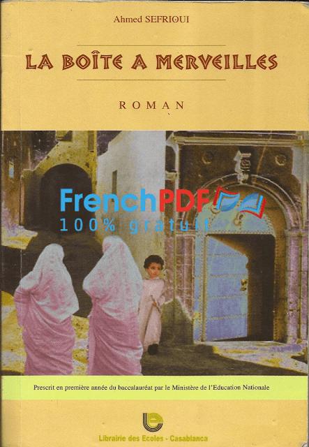 la boite a merveille de ahmed sefrioui pdf