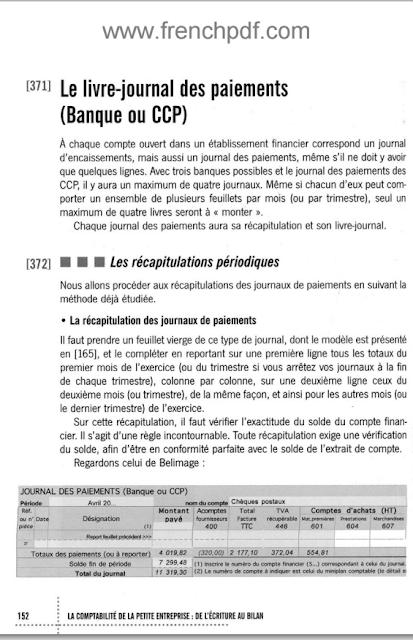 La comptabilité de la petite entreprise de l'écriture au bilan en PDF 3