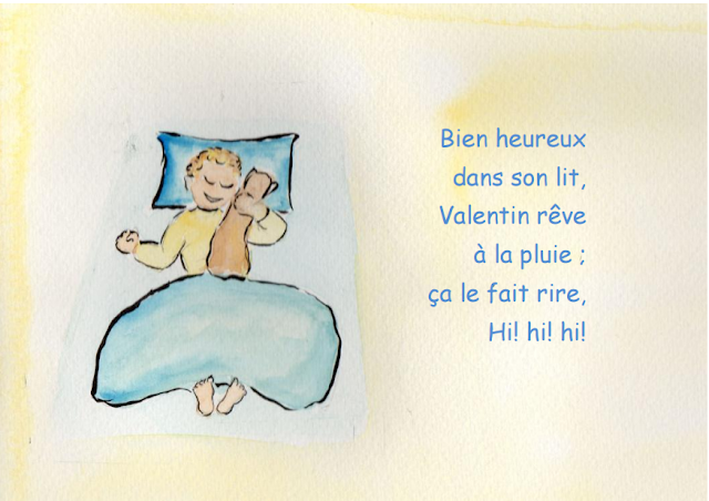 Vive la pluie - Petite conte pour les enfants 10