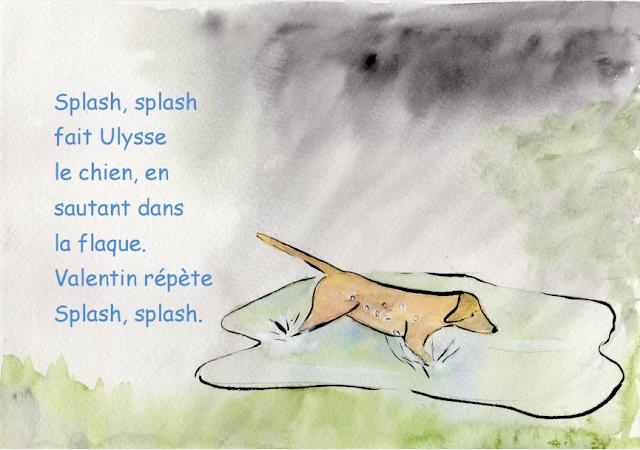 Vive la pluie - Petite conte pour les enfants 5