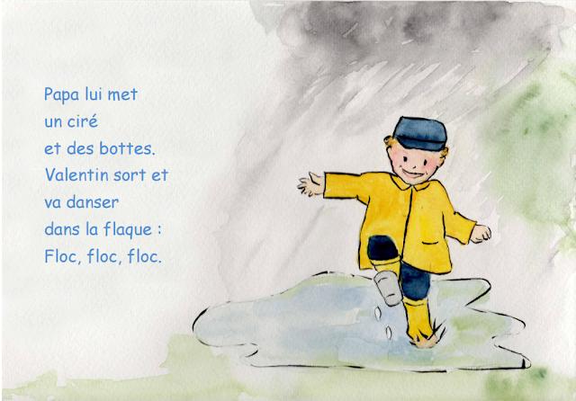 Vive la pluie - Petite conte pour les enfants 7