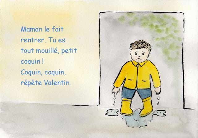 Vive la pluie - Petite conte pour les enfants 8