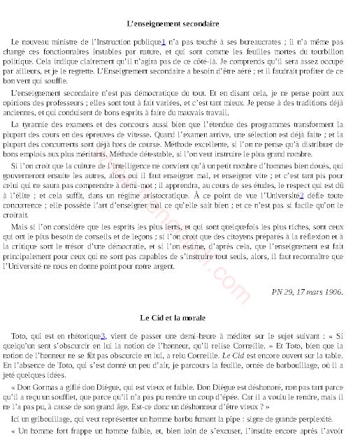 L'instituteur et le Sorbonagre pdf : 50 propos sur l'école de la République 2