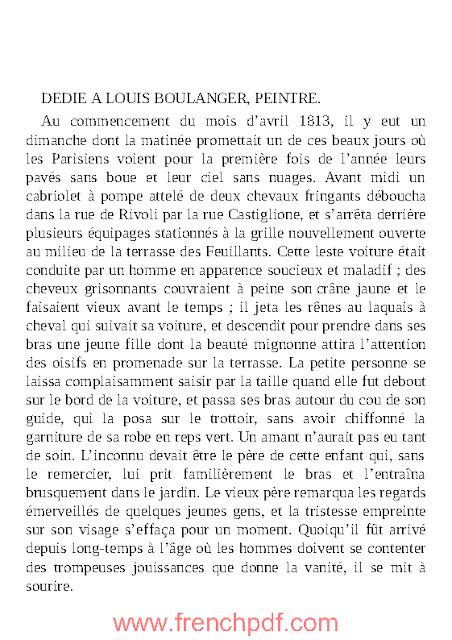 La Femme de trente ans PDF par Honoré de Balzac 1