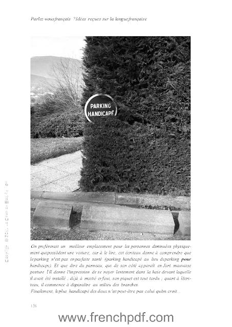 Parlez-vous le français en PDF Livre pour apprendre le Français 5