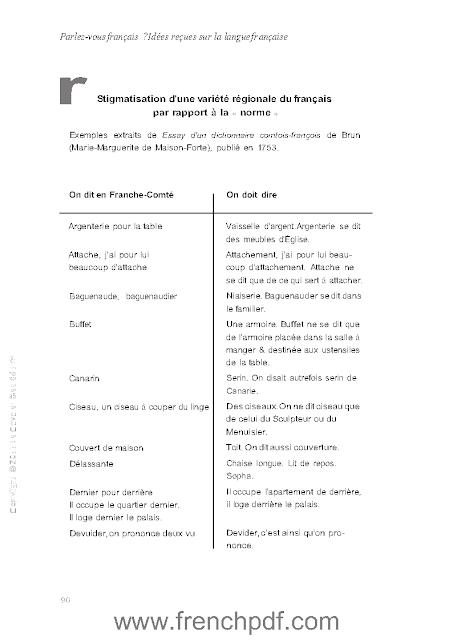 Parlez-vous le français en PDF Livre pour apprendre le Français 4