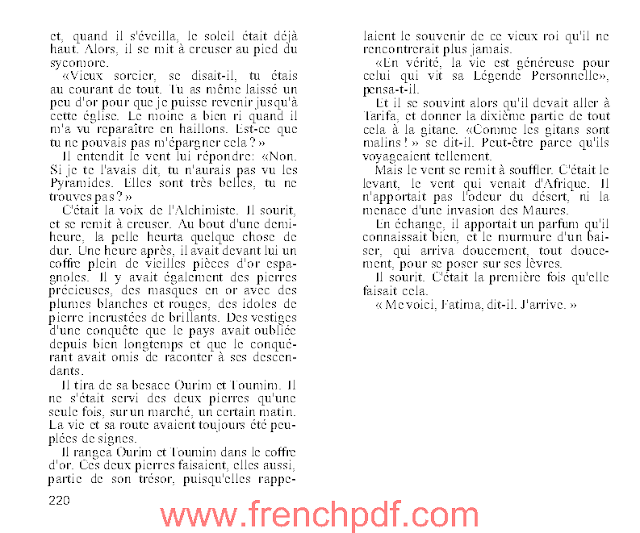 L'Alchimiste en PDF de Paulo Coelho à télécharger 6