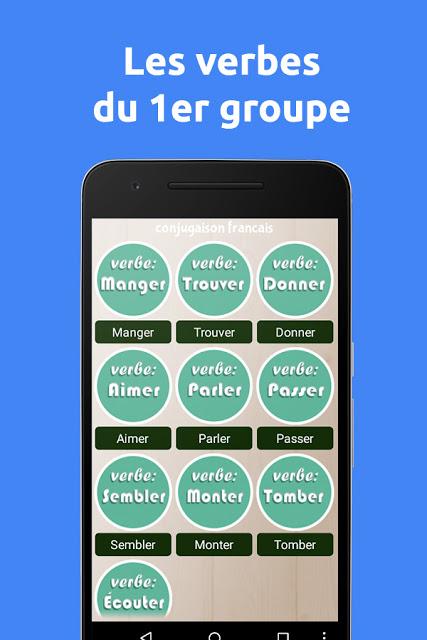 Télécharger la meilleure application de Conjugaison Française 3