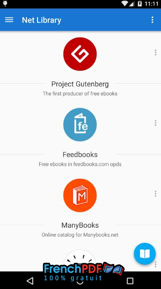 Moon+ Reader Pro pour Android 5