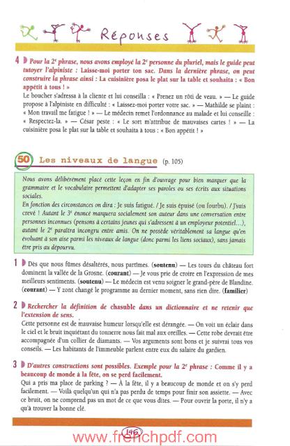 BLED - Les 50 Règles d'or de la Grammaire pdf gratuit 4