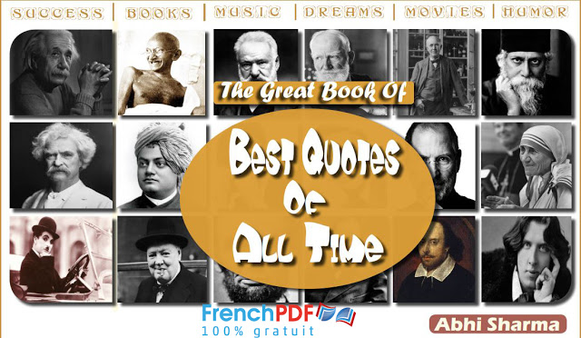 The Great Book Of Best Quotes Of All Time PDF by Abhi Sharma 1