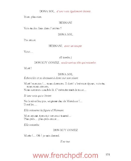 Hernani en pdf ou l'Honneur castillan de Victor Hugo 4