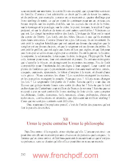 L'homme qui rit en pdf de Victor Hugo 2